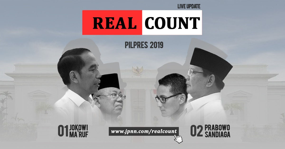 Real Count 2019 - JPNN.COM