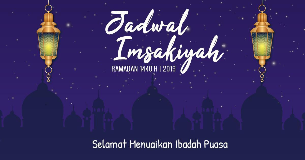 Jadwal Imsakiyah 1440 H (2019) - JPNN.COM