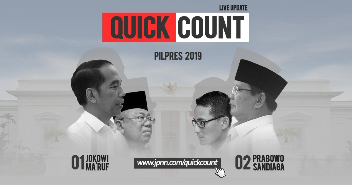 Quick Count 2019 - JPNN.COM
